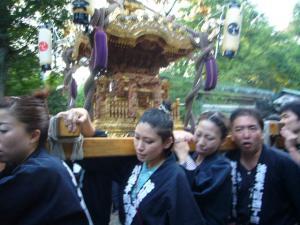氷川神社お祭り(2010年9月19日)3
