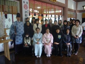 2011年フローリーディング研究所初祈祷祭1