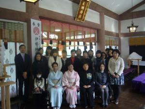 2011年フローリーディング研究所初祈祷祭2