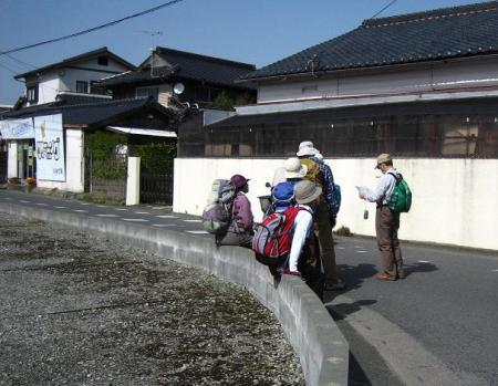 長崎街道神埼 302