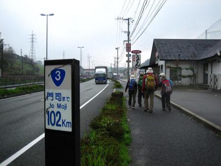 長崎街道 内野宿 052