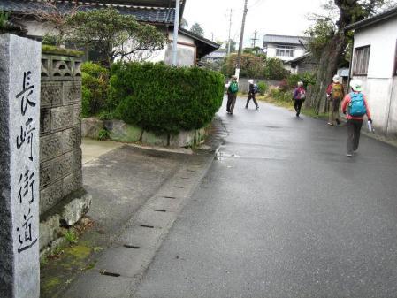 長崎街道 内野宿 043
