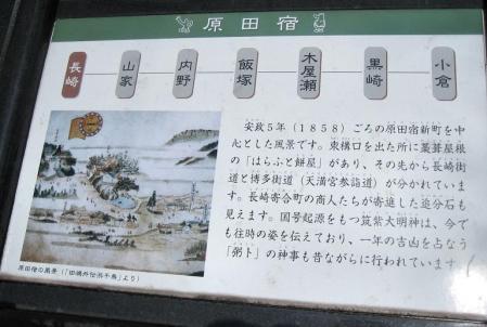 長崎街道 内野宿 110