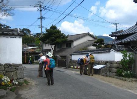 長崎街道 内野宿 167