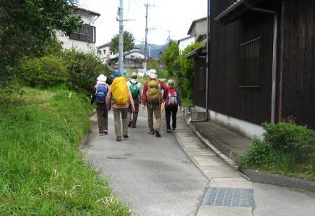 長崎街道 内野宿 159