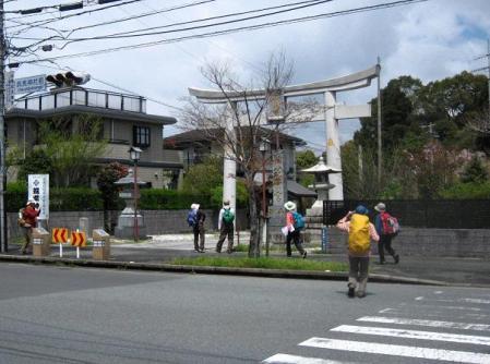 長崎街道 内野宿 108