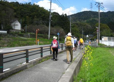 長崎街道 内野宿 200