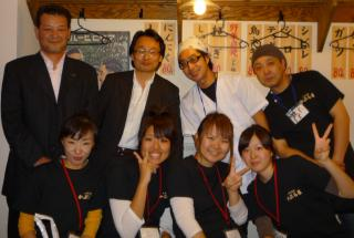 静岡御幸町店オープニングメンバー