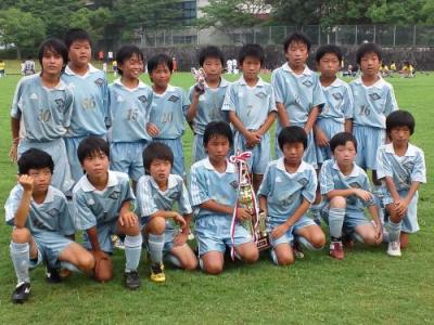 第2回奈良東和SUMMER CUP U-11 準優勝
