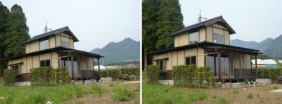 南阿蘇村河陰新築一戸建てオープンハウス外観写真