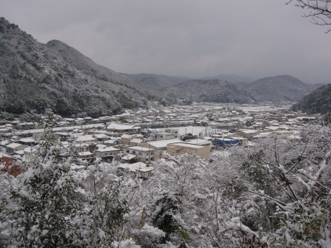 久しぶりの積雪1
