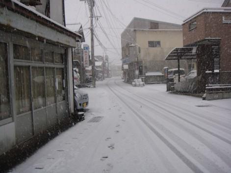 久しぶりの積雪2