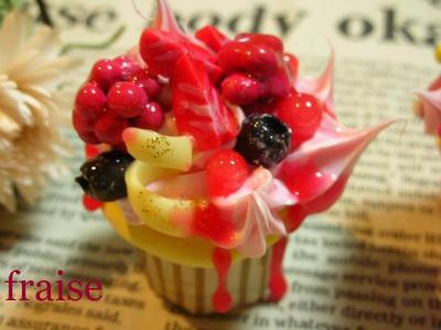 ベリーのカップケーキ2
