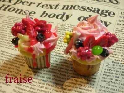 ベリーのカップケーキ1