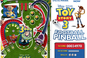 Toy Story 3:Football Pinball
