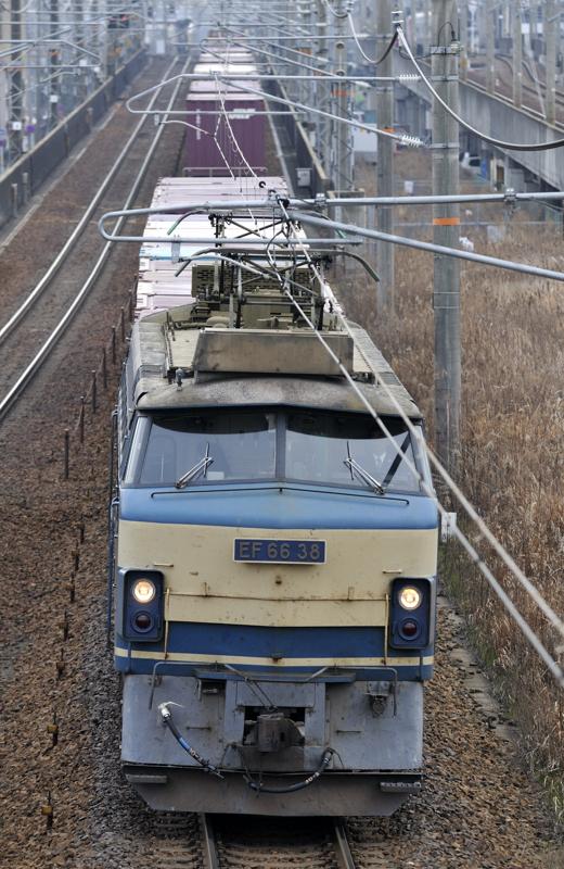 2/9 2071レ EF66-38号機