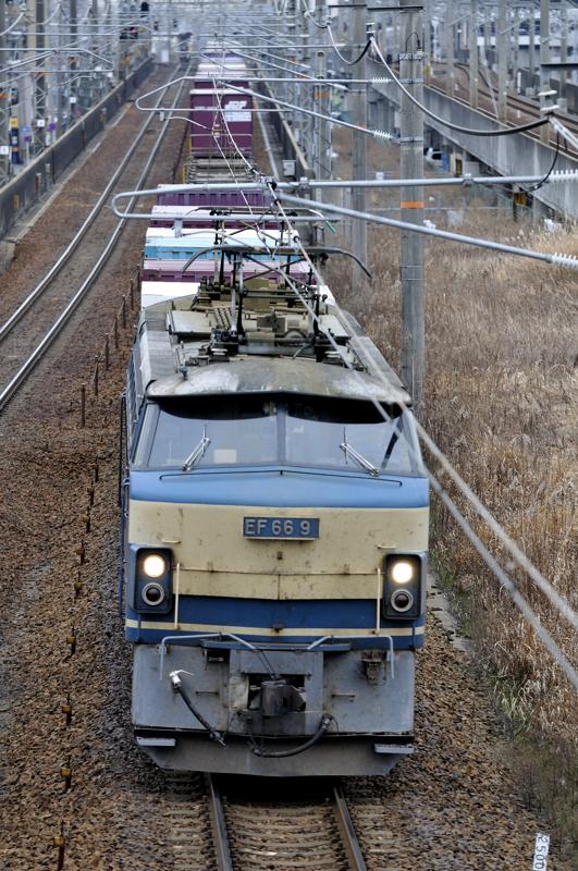 2/8 2071レ EF66-9号機