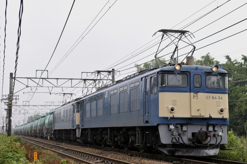 3084レ EF64-34+31号機