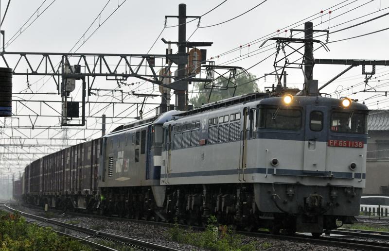 ????レ EF65-1138号機+EF210-?