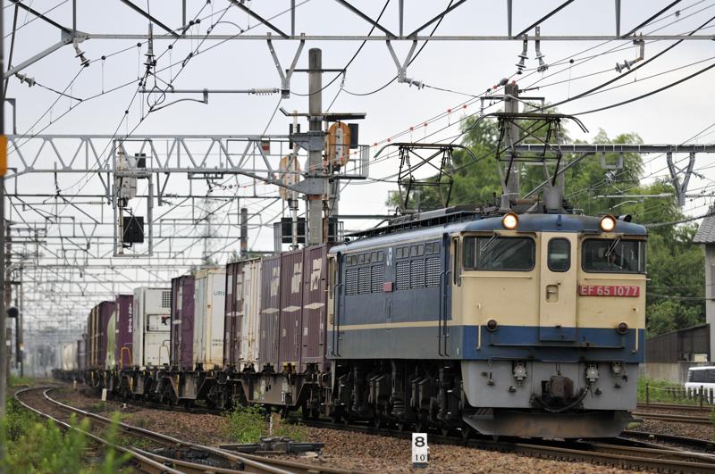 1095レ EF65-1077号機