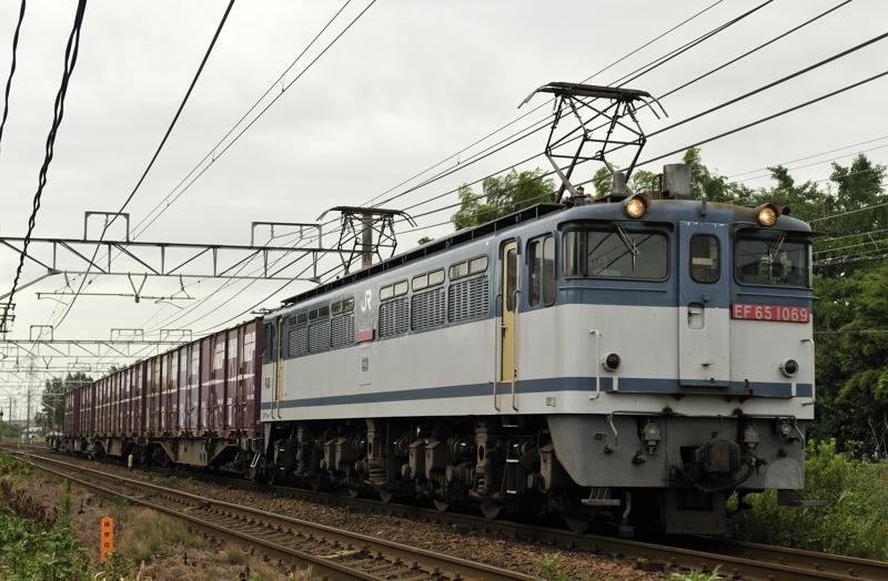 1151レ EF65-1069号機