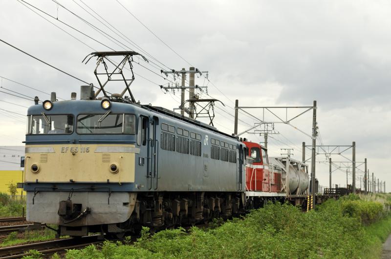 8865レ EF65-116号機