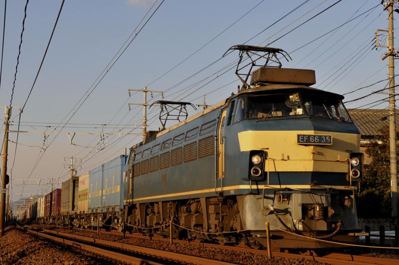 1072レ EF66-35号機