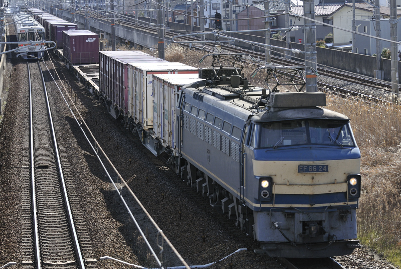 26日 2071レ EF66-24号機