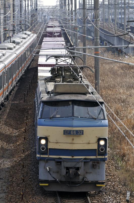 2月5日 2071レ EF66-32号機