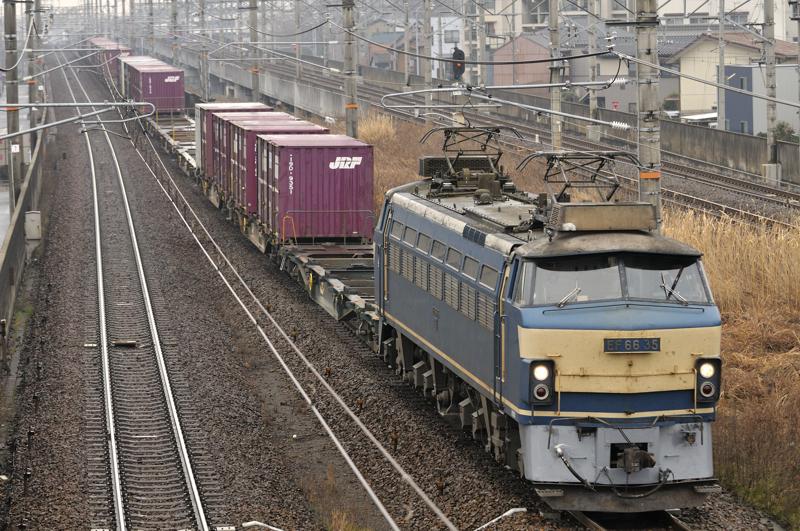 2/10 2071レ EF66-35号機