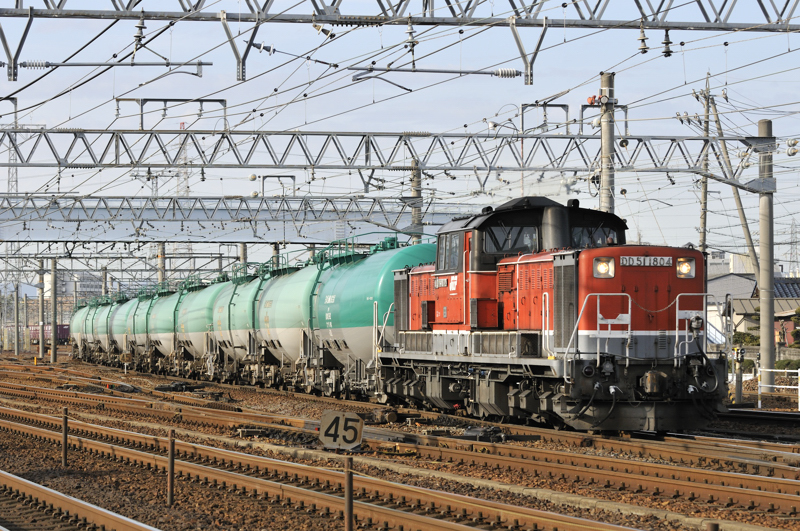75レ DD51-1804号機