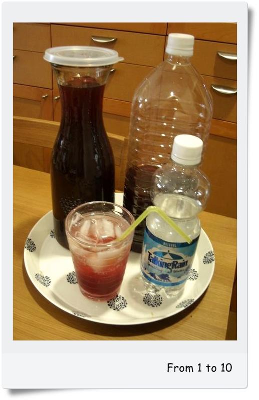 赤紫蘇ジュース②