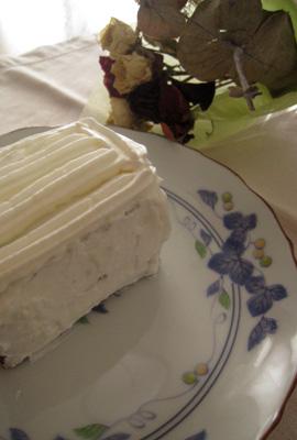 紫いものショートケーキ
