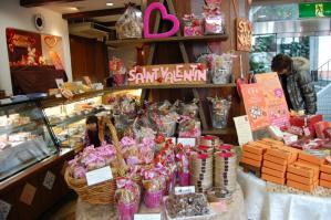 洋菓子店店内2013/02/12