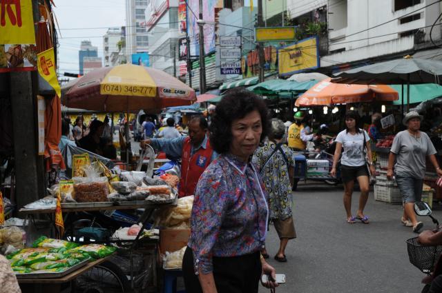 ハジャイの市場
