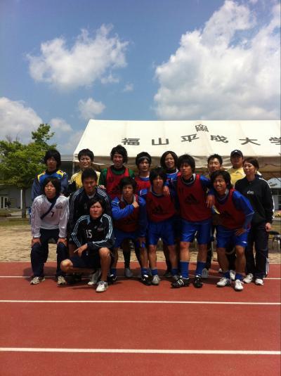 2011年度 中国L 第2節 vs福山平成大学(2011:4:29 fri)[ベンチ]