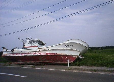ゆりあげの舟