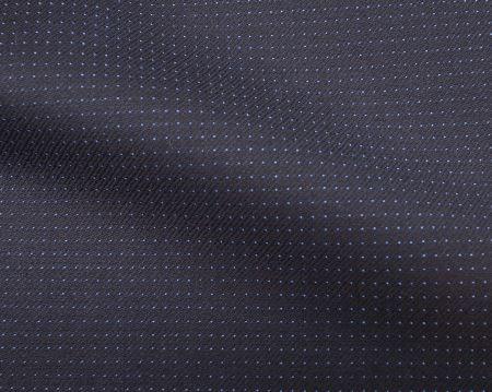 (スキャバル)のオーダースーツ生地GALAXY(ギャラクシー)・青のドット