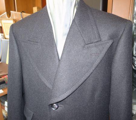 衿幅13cmのオーダーコート