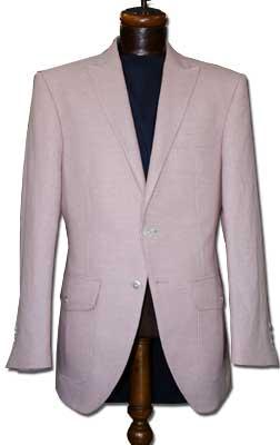 コットンのピンクのオーダージャケット