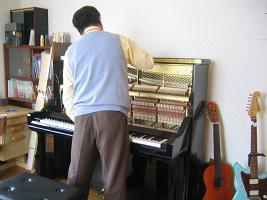 ピアノ調律 長瀬サン