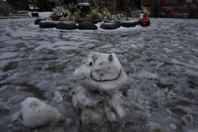 泥んこ雪あそび2