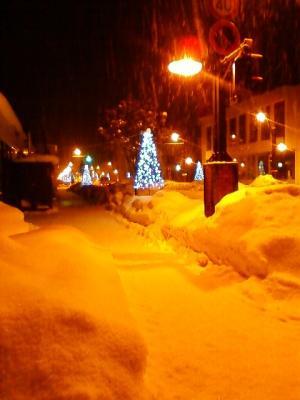 雪の5条通り