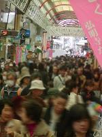 弘明寺商店街4月3日2