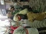 弘明寺の獅子舞と息子2