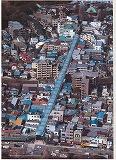 空から見た弘明寺商店街
