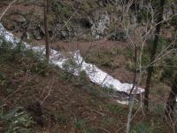 氷雪 小菅山の雪渓 110503_cIMG_9450