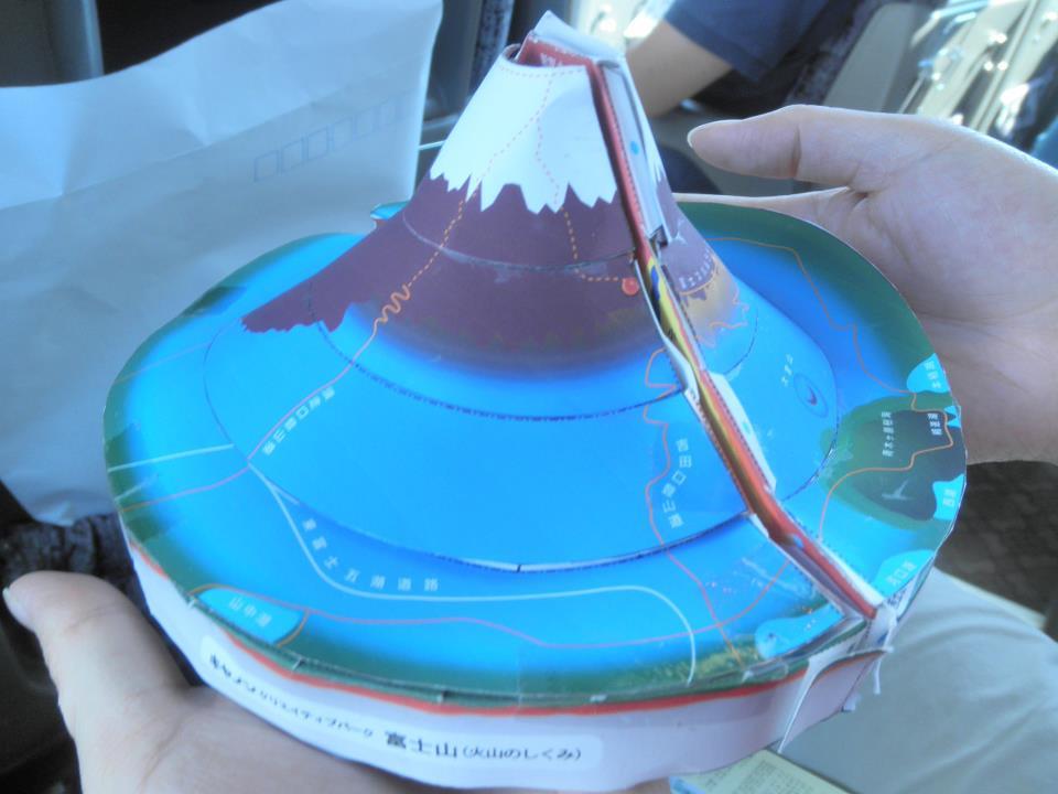 富士山模型