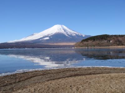 山中湖~!