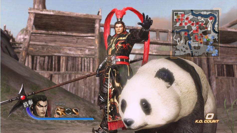 パンダと一緒に戦える
